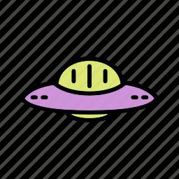 satellite, space ship, ufo icon