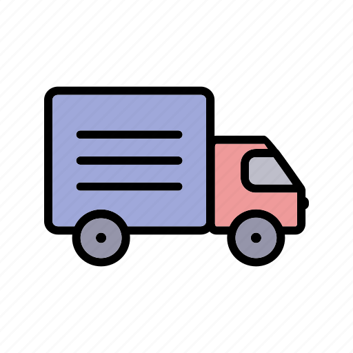cargo, delivery, lorry, shipping, transportation, truck icon