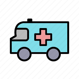 ambulance, emergency, first aid, medical icon