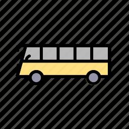 bus, travel, vehicle icon
