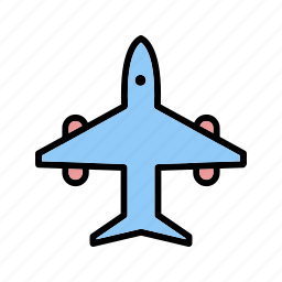 aeroplane, aircraft, airplane, flight, plane, transportation icon