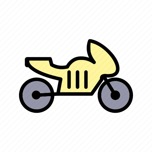 bike, heavy bike, motor cycle, motorbike icon