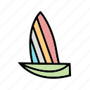 sailboat, sailing, sea, transport, travel, yacht icon