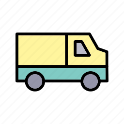 cargo, delivery, van icon