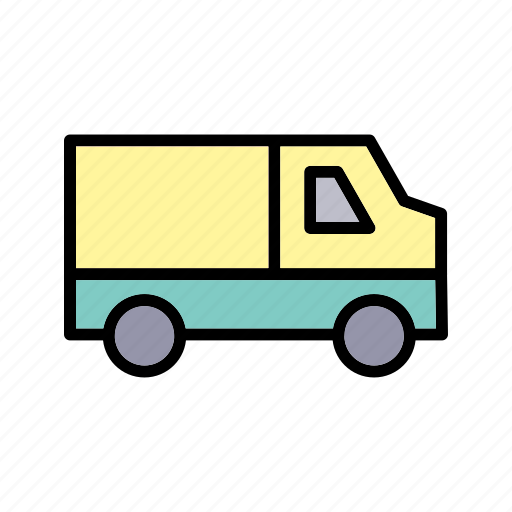 Van, delivery, cargo icon - Download on Iconfinder
