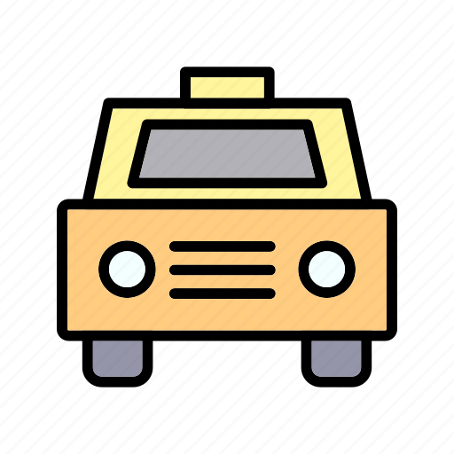 automobile, cab, taxi, transportation, travel icon