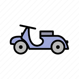 bike, scooter, vespa icon