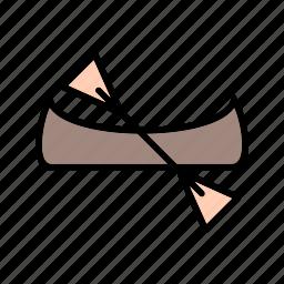boat, canoe, canoeing, ship icon