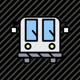 airport, bus, coach, public, transport, transportation icon