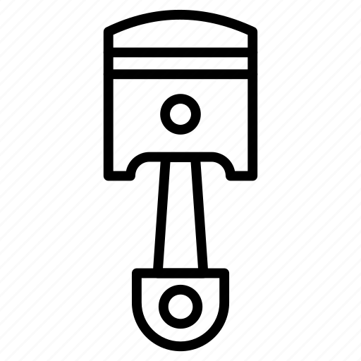 Piston, automobile, car, parts, engine icon - Download on Iconfinder