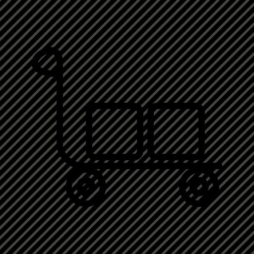 retail, shopping, trolley icon