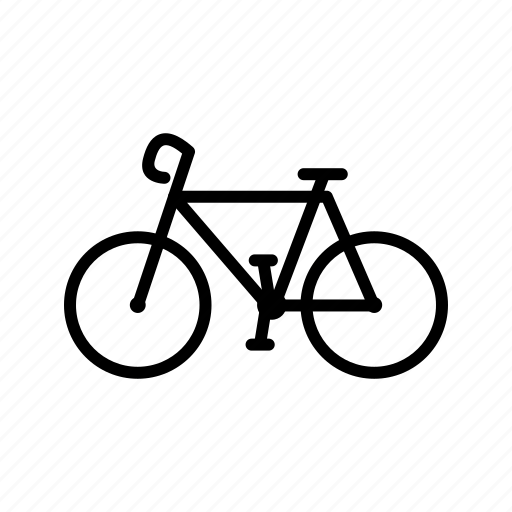 bicycle, cycling, pedal, ride, sports, transportation icon