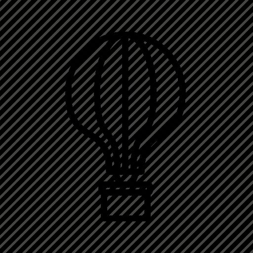 air balloon, balloon, travel icon