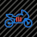 bike, ride, transport, travel icon