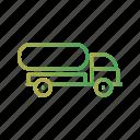 fuel, oil, tank, tanker, truck icon