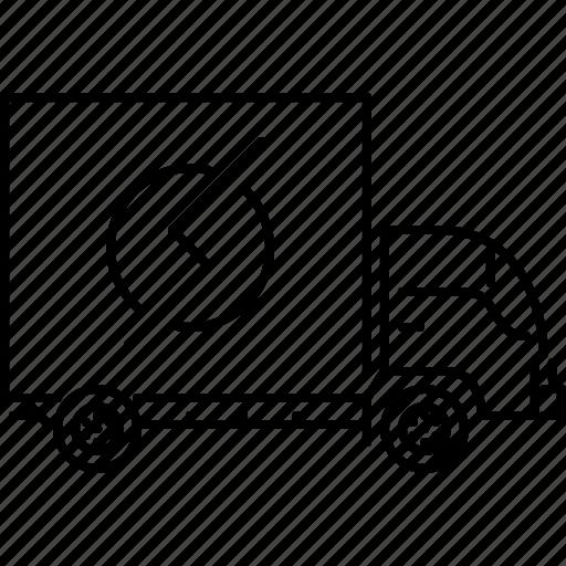 car, machine, movement, transport, transportation, truck icon