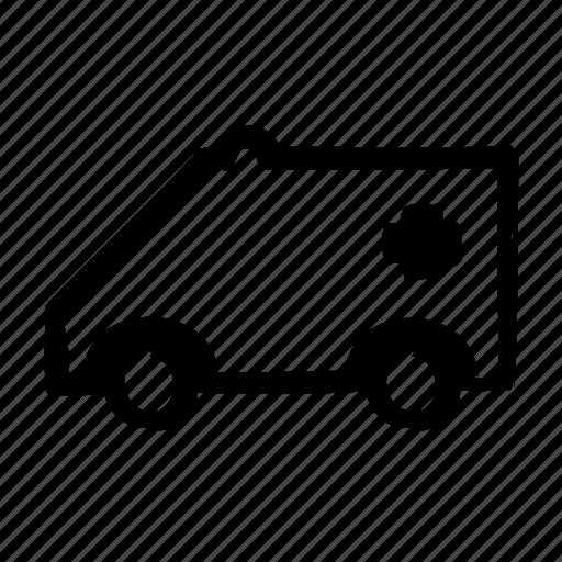 car, emergency, transport, transportation, vehicle icon