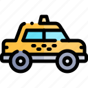taxi, transport, transportation, vehicle icon
