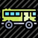 bus, transport, transportation, vehicle icon