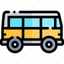 transport, transportation, van, vehicle icon
