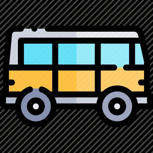 transport, transportation, van, vehicle icon