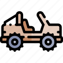 car, off, road, transport, transportation, vehicle icon