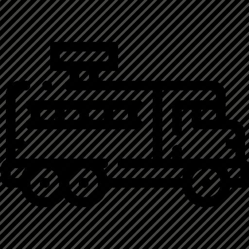 firetruck, transport, transportation, vehicle icon