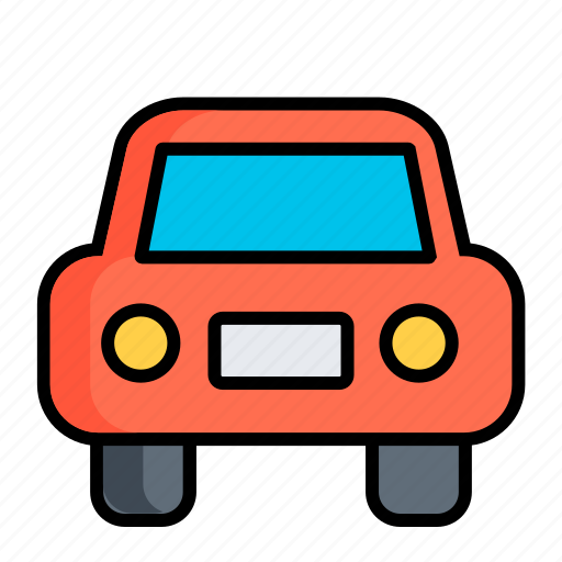 auto, automobile, car, face, transport, travel, vehicle icon