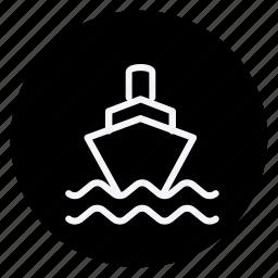 automation, car, cargo, ship, transport, transportation, vehicle icon