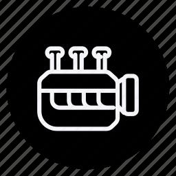 auto, automation, car, engine, transport, transportation, vehicle icon