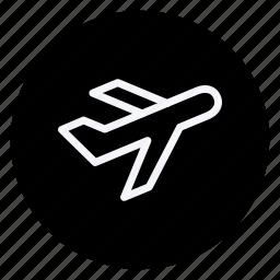 airplane, auto, car, plane, transport, transportation, vehicle icon