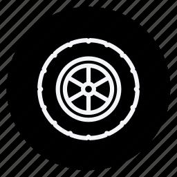 automation, car, gears, transport, transportation, vehicle, wheel icon