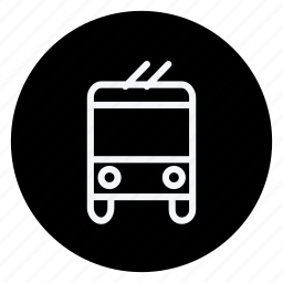 bus, car, train, transport, truck, van, vehicle icon