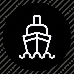 auto, automation, cargo, ship, transport, transportation, vehicle icon