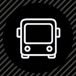 automation, bus, car, train, transport, transportation, vehicle icon
