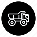 car, crane, transport, transportation, truck, van, vehicle icon