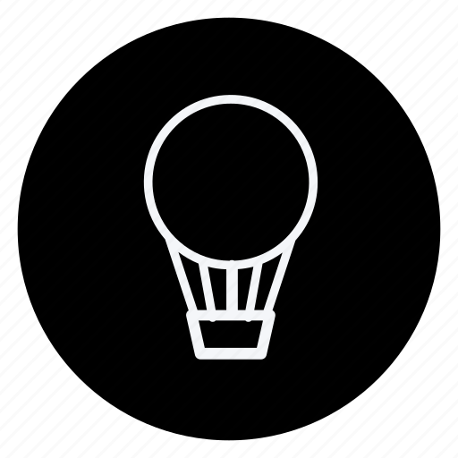airballoon, auto, automation, car, transport, transportation, vehicle icon