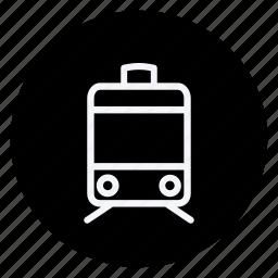 bus, car, train, transport, transportation, van, vehicle icon