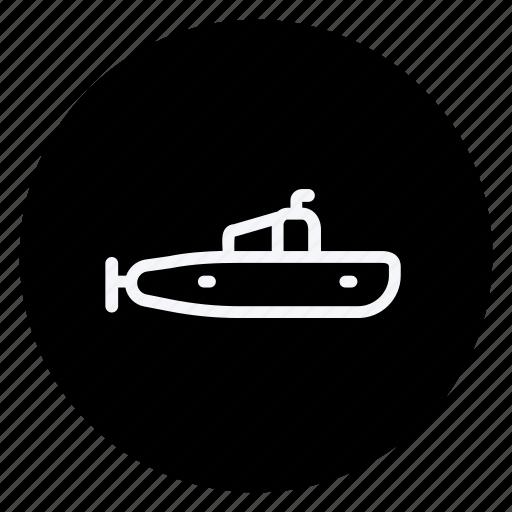 auto, automation, car, submarine, transport, transportation, vehicle icon
