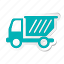 auto, automation, car, garbage truck, transport, transportation, vehicle icon