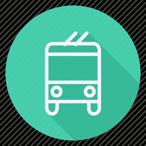 automation, bus, car, transport, transportation, van, vehicle icon