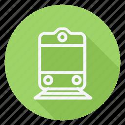 auto, automation, car, train, transport, transportation, vehicle icon