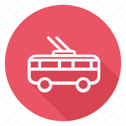 auto, automation, car, transport, transportation, trolleybus, vehicle icon