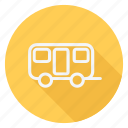 automation, bus, car, transport, transportation, van, vehicle icon