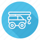 automation, bus, car, crane, transport, transportation, vehicle icon