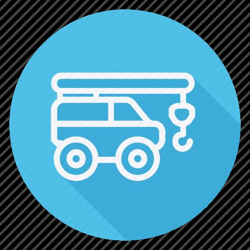 automation, bus, car, crane, transport, transportation, vehicle icon