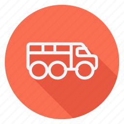 bus, car, transport, transportation, truck, van, vehicle icon