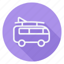 bus, car, cargo, transportation, truck, van, vehicle icon