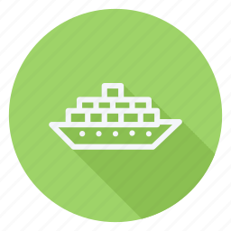 automation, car, cargo, cruise, ship, transportation, vehicle icon