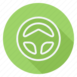 auto, automation, car, steering wheel, transport, transportation, vehicle icon